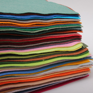 [펠트지]로코펠트 70색 (택1) - 기본사이즈 30cm×30cm